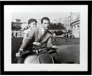 Oprawiony druk cyfrowy Roman Holiday with Peck and Hepburn