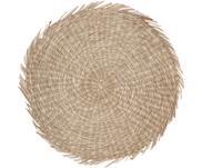 Okrągła podkładka z trawy morskiej Whirl
