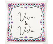 Haftowana poszewka na poduszkę Viva la Vida