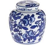 Mały wazon z porcelany z pokrywką Annabelle