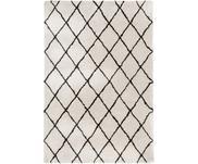 Puszysty ręcznie tuftowany dywan z wysokim stosem Naima