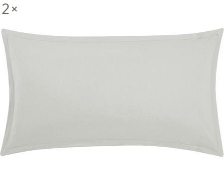 Poszewka na poduszkę z lnu z efektem sprania Nature, 2 szt.