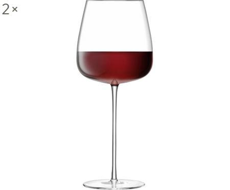 Kieliszek do czerwonego wina ze szkła dmuchanego  Wine Culture, 2 szt.