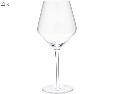 Kieliszek do czerwonego wina ze szkła dmuchanego Ays, 4 szt.