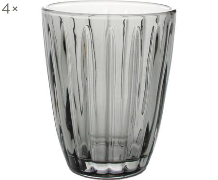 Szklanka do wody Zefir, 4 szt.