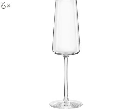 Kryształowy kieliszek do szampana Power, 6 szt.