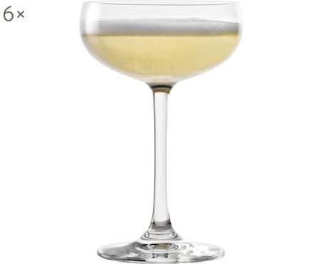 Kryształowy kieliszek do szampana Elements, 6 szt.