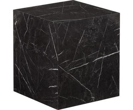 Stolik pomocniczy z wzorem marmurowym Lesley