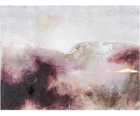 Ręcznie malowany obraz na płótnie Turning Red