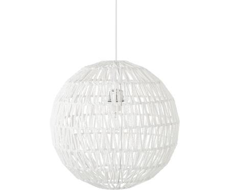 Lampa wisząca z tkaniny Cable