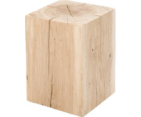 Stołek z litego drewna dębowego Block