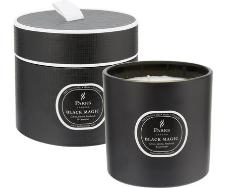 Świeca zapachowa z trzema knotami Black Magic (cytrus i wanilia)