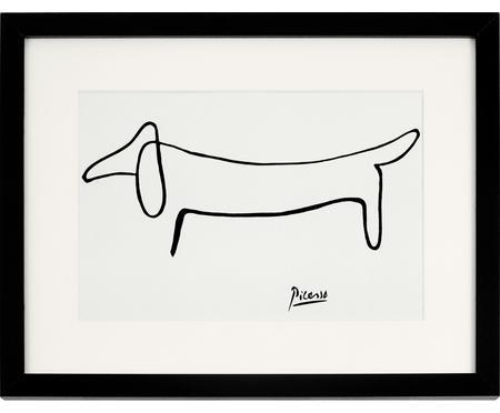 Oprawiony druk cyfrowy Picasso's Dackel
