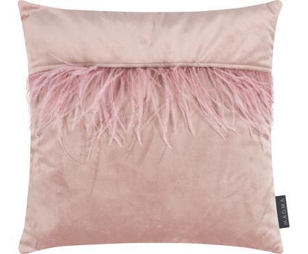 Poszewka na poduszkę z aksamitu Ostrich