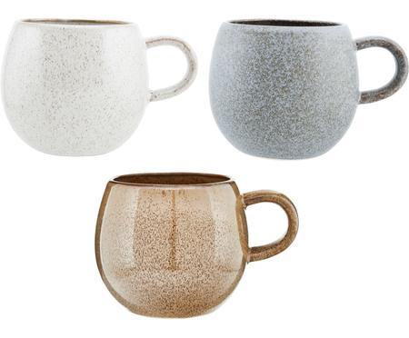 Komplet ręcznie wykonanych kubków do herbaty Addison, 3 elem.