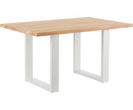 Stół do jadalni  z blatem z litego drewna Oliver