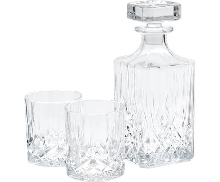 Komplet do whisky George, 3 elem.
