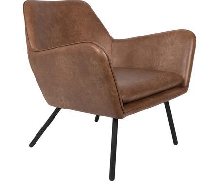 Fotel wypoczynkowy ze sztucznej skóry  Bon
