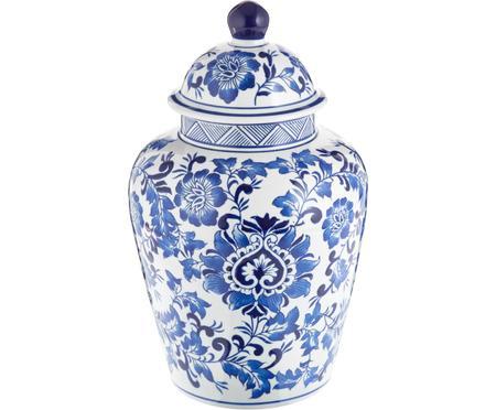 Duży wazon z porcelany z pokrywką Annabelle