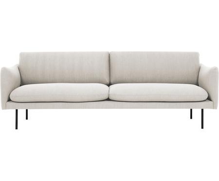 Sofa z metalowymi nogami Moby (3-osobowa)