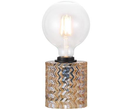 Mała lampa stołowa ze szkła Hollywood