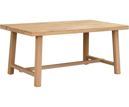 Stół rozsuwany do jadalni z drewna dębowego Brooklyn