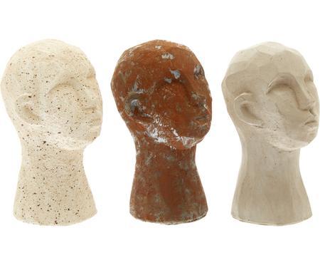Komplet dekoracji Figure Head, 3 elem.