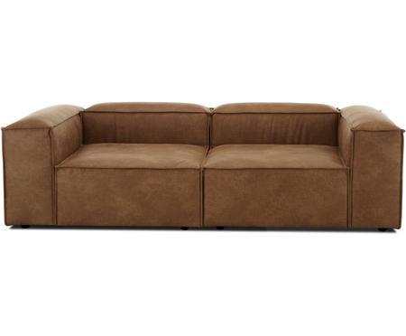 Sofa modułowa ze skóry z recyklingu Lennon (3-osobowa)