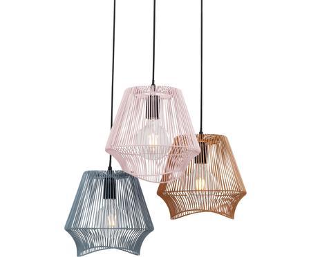 Lampa wisząca z metalu Ischia