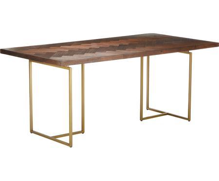 Stół do jadalni w jodełkę z drewna akacjowego Class