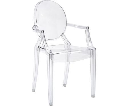 Krzesło z podłokietnikami Ghost