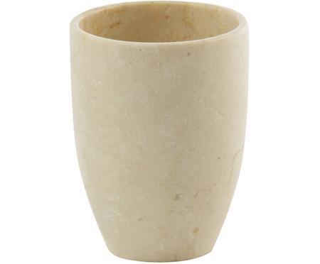 Kubek na szczoteczki z marmuru Luxor