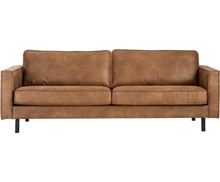 Sofa ze skóry z recyklingu Hunter (3-osobowa)