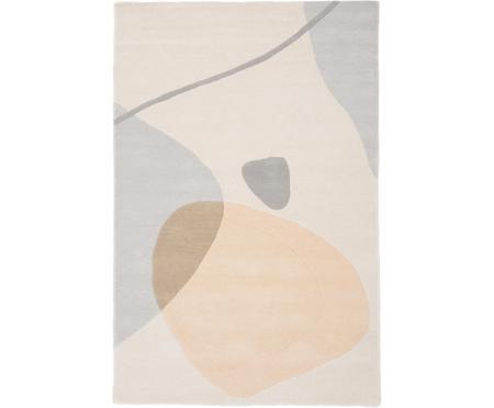 Ręcznie tuftowany dywan z wełny Luke