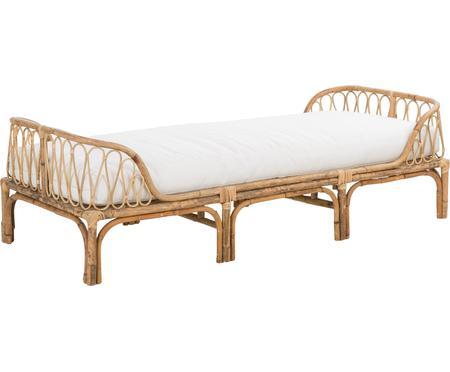Łóżko dzienne z bambusa z poduszką Blond