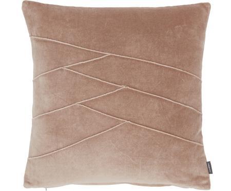 Poduszka z aksamitu z wypełnieniem Pintuck