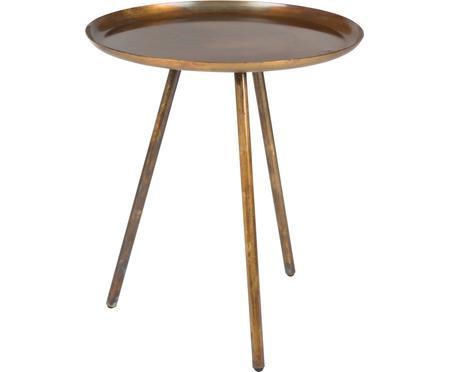 Okrągły stolik pomocniczy z metalu Frost