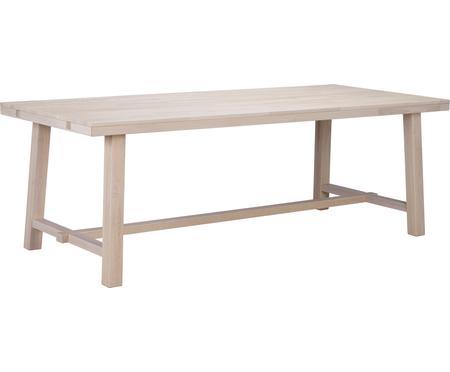 Duży stół do jadalni z litego drewna  Brooklyn