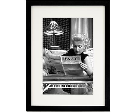 Oprawiony druk cyfrowy Marilyn Monroe Reading