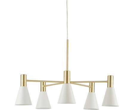 Duża lampa wisząca z metalu Sia