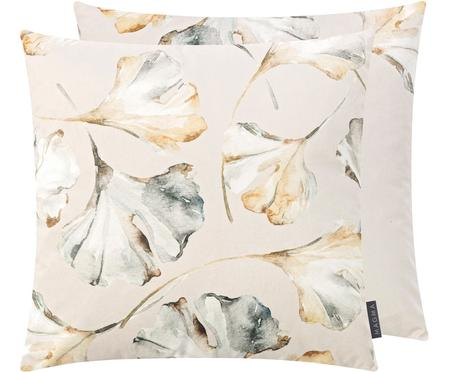 Dwustronna poszewka na poduszkę z aksamitu Flores