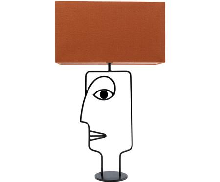 Duża lampa stołowa Face