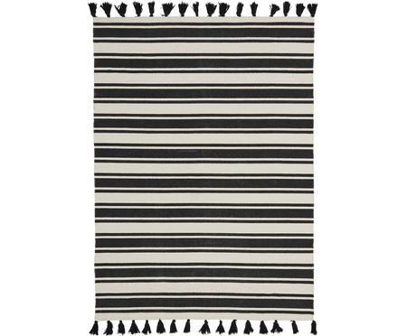 Ręcznie tkany dywan z bawełny z chwostami Vigga