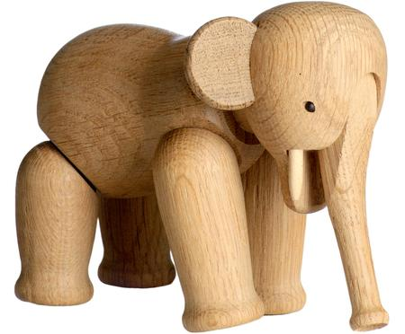 Dekoracja z drewna dębowego Elephant