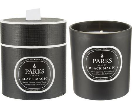 Świeca zapachowa Black Magic (jasny jaśmin, jagodlin wonny & drzewo sandałowe)