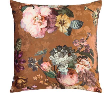Poduszka z aksamitu z wypełnieniem Fleur