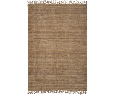 Ręcznie wykonany dywan z juty z frędzlami Cadiz