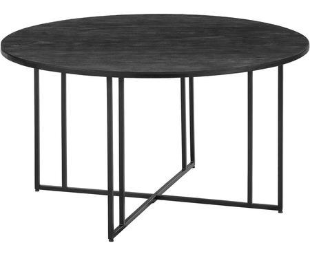 Okrągły stół do jadalni z litego drewna Luca