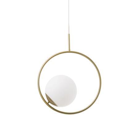 Lampa wisząca ze szkła opalowego Chloe