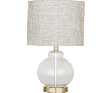 Lampa stołowa ze szklaną podstawą Natty